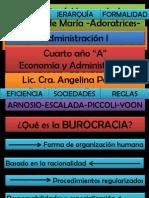 Administración - TEORÍA WEBER