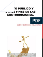 GASTO PÚBLICO Y OTROS FINES DE LAS CONTRIBUCIONES