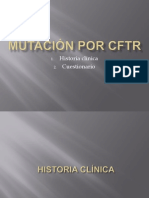 MUTACIÓN POR CFTR