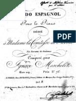 Moscheles Rondo Espagnol Op.24