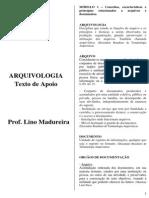 Arquivologia - Prof. Lino