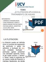 TECNICA DE FLOTACIÓN