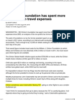 Bill Clinton foundation has spent more than $50 million on travel expenses - NYPOST.pdf