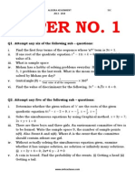 ALGEBRA QUESTION PAPER FOR PRACTISE.pdf