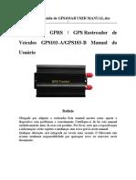Versão traduzida de GPS103AB USER MANUAL