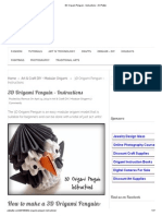 3D Origami Penguin - Instructions • Art Platter.pdf