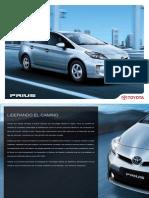 Catálogo Toyota Prius 1.8 CVT