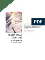 KONSEP DASAR AKUNTANSI MANAJEMEN.doc