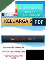 Bahasa Malaysia Tahun 3 Keluarga Saya