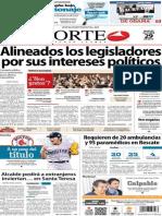 Periódico Norte de Ciudad Juárez 29 de Octubre de 2013