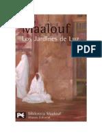 Maalouf, Amin - Los Jardines de Luz