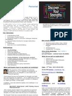 Personal Effectiveness through Strengths - Thiruvananthapuram, Nov 27, 2013.doc