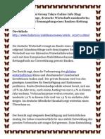 The koyal Group Tokyo Online Info Mag Binnennachfrage deutsche Wirtschaft anzukurbeln Warnung bei Ermangelung eines Banken Rettung.pdf
