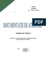 Caiet de sarcini-MANSARDARE SCOALA NR.1.doc