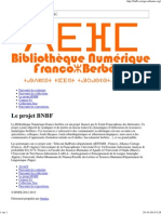 Bibliothèque  numérique franco-berbère (thèses, livres, articles gratuits)