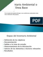 Clase #6 El Inventario Ambiental y Prediccion de Impactos