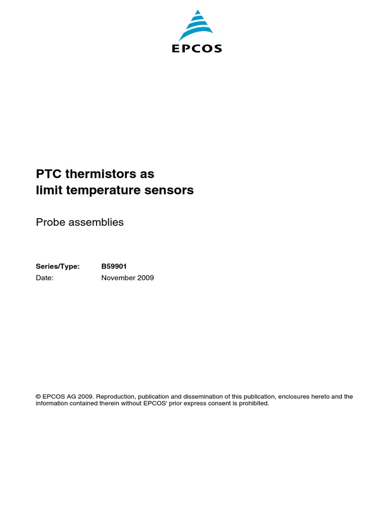 Ptc Thermistors Electrical Resistance And Conductance Soldering