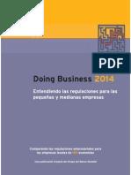 Informe Doing Business 2014 del Banco Mundial