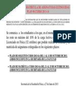 CONVOCATORIA ASIGNATURAS EXTIGUIDAS_0