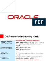 Basics of OPM Financials (Oracle Webcast)