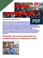 Noticias Uruguayas Martes 29 de Octubre Del 2013