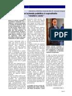INTERVISTA A GIOVANNI GORGONI sulla rivista dei fornitori ospedalieri di Puglia