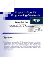 Chapter02 Core C# Programming Construct