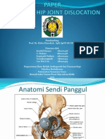 CASE REPORT - POSTERIOR HIP JOINT DISLOCATION.pptx