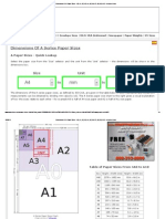 Dimensions Of A Paper Sizes - A0, A1, A2, A3, A4, A5, A6, A7, A8, A9, A10 - In Inches & mm.pdf