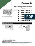 Manual for Panasonic KX-MB2025.pdf