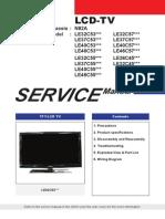 LE32C550J1W Service Manual