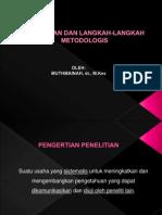 PENELITIAN & LANGKAH METODOLOGIS