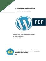 Modul Pelatihan Website Wordpress Secara Offline 2013
