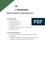 MOdul 9 html dengan Dreamwaver.doc