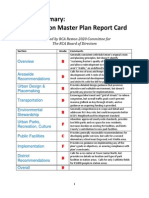 Reston 2020 Report Card on the Draft Reston Master Plan (Version 10)