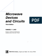 Microwave Devices and Circuits Liao Third Edition