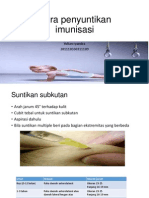 Cara penyuntikan imunisasi.ppt