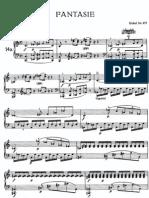 Fantasía en Do menor KV 475 W.A. Mozart