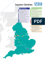 Map of Major Trauma Centres 2012