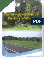 Libro Ciencia Sociales y Naturales Provincia de Formosa
