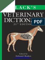 BLACK VETERINARY DICTIONARY