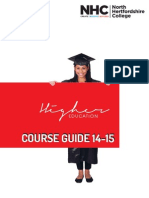 Higher Education course guide 2014/15