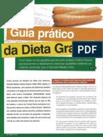 Dieta Gracie matéria