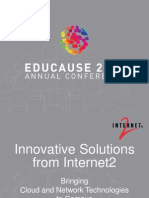 Innovative Solutions from Internet2