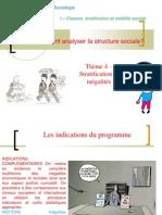 thème 4- inégalités et stratification