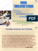 Familias Lectoras Cordobesas