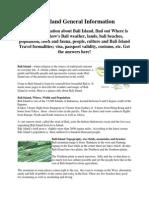 Bali Island General Information.docx