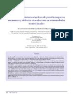 Investigacion Presion Negativa en Herida