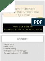 morning report TTH