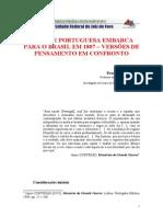 Texton2 a Fuga Da Coroa Portuguesa Para o Brasil1807
